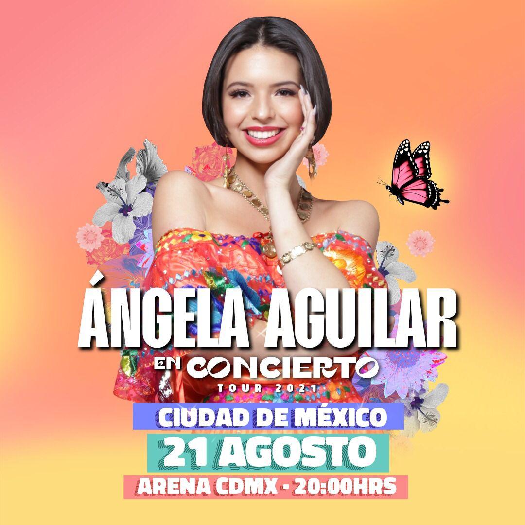 Ángela Aguilar da inicio a su tour 2021 en la Arena Ciudad de México