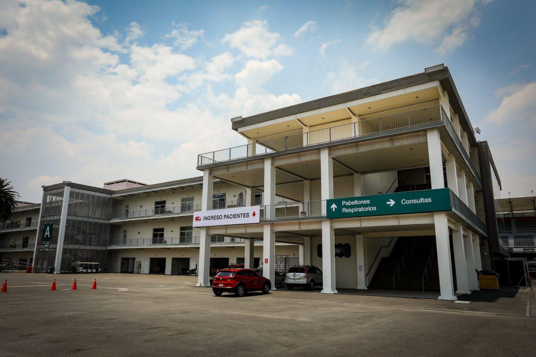Hospital de Expansión del IMSS en el Autódromo Hermanos Rodríguez dejará de dar servicio el 15 de julio