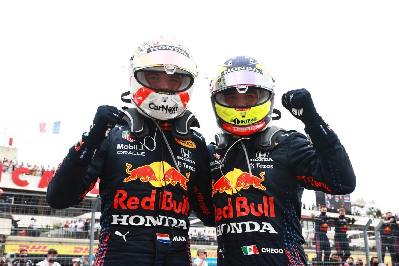 Checo Pérez, imparable en F1: Max Verstappen gana Gran Premio de Francia y «Checo» Pérez avanza