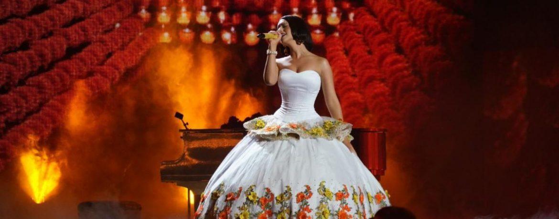 """Ángela Aguilar ganadora de """"Canción Mariachi-ranchera"""" en Premios Juventud"""