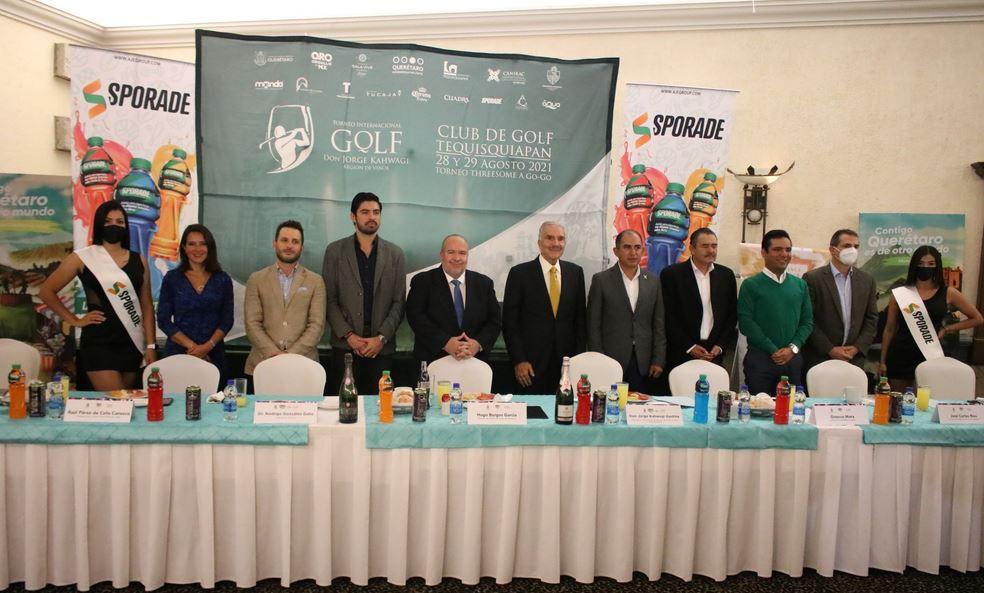 Tequisquiapan sede del Primer Torneo Internacional de Golf