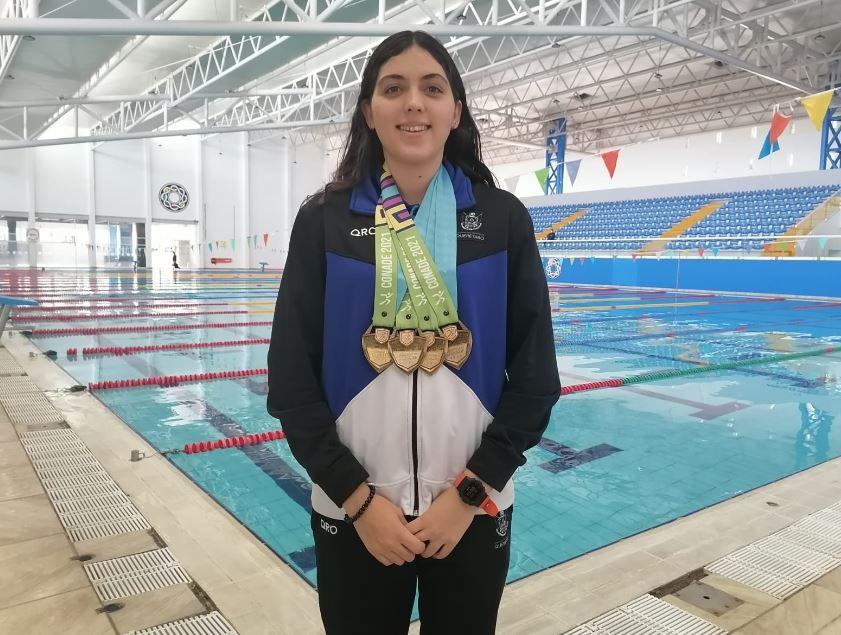 Nadadores queretanos destacan en nacionales