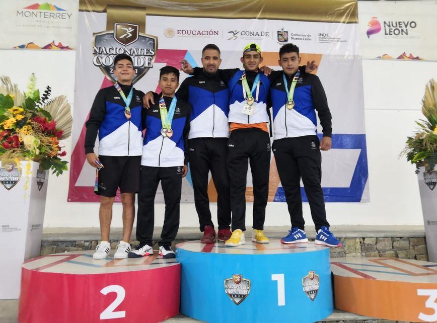 Frontenistas queretanos suman medallas en Juegos Nacionales