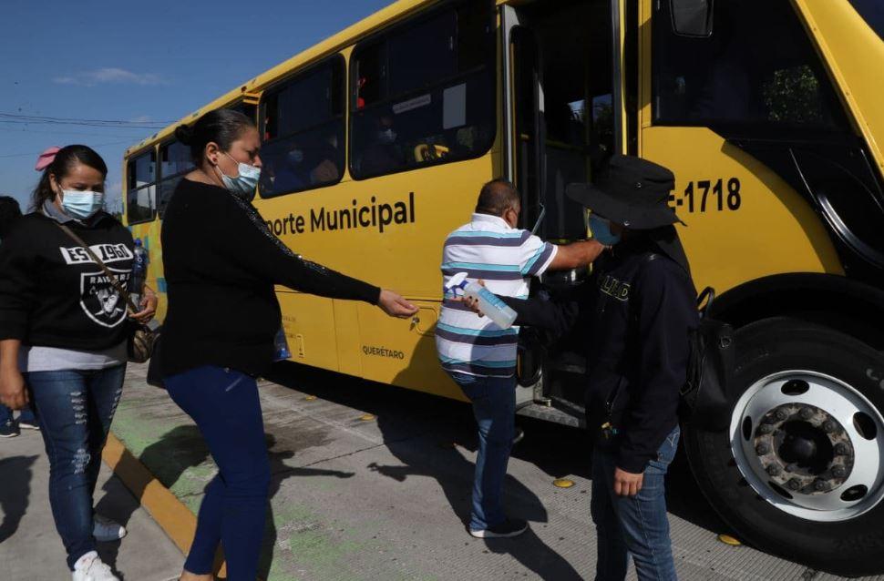Municipio de Querétaro ha brindado más de 140 mil traslados para la jornada de vacunación