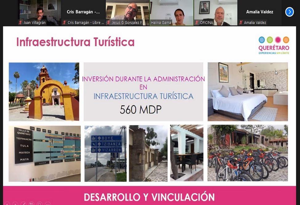 Presentan balance de la actividad turística en Querétaro a Consejo Ciudadano